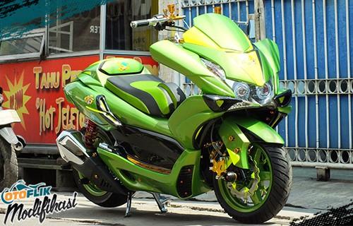 modifikasi honda pcx 150cc