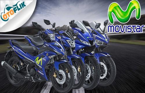 Harga Motor Yamaha Movistar Livery