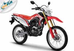 Honda CRF150L – Extreme Red