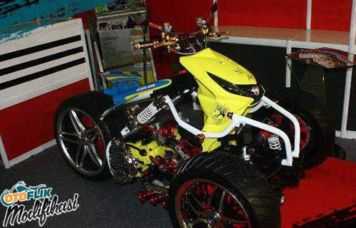 Modif Honda Beat Extreme