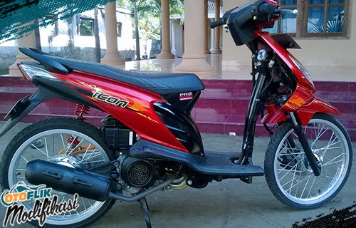 Modif Honda Beat Ring 17