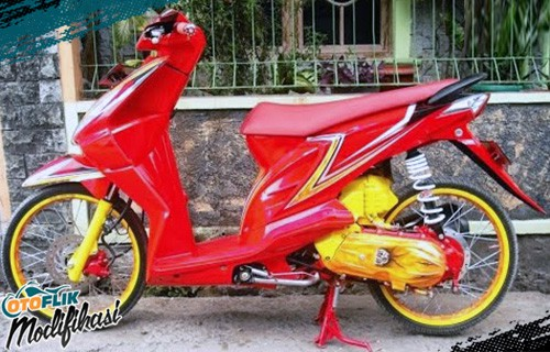 Modif Motor Beat Airbrush