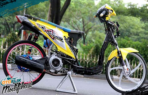 Modif Motor Honda Beat Drag