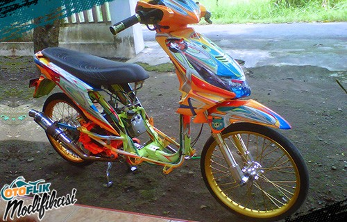 Modifikasi Beat Drag Racing