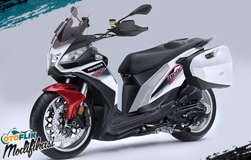 Modifikasi Extreme Honda Beat