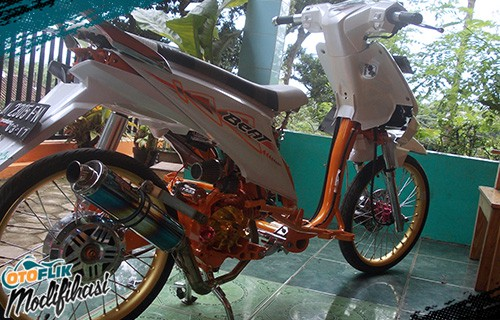 Modifikasi Honda Beat Drag