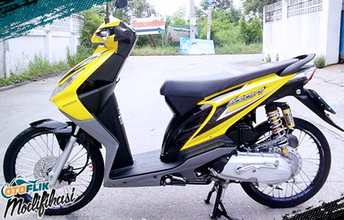 Modifikasi Honda Beat Ring 17
