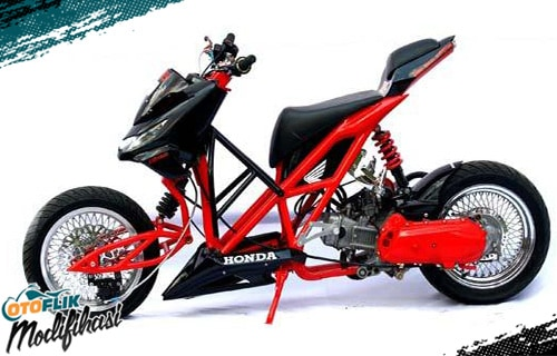 Modifikasi Motor Beat Extreme