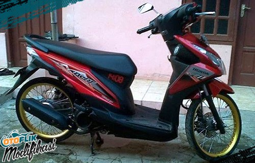 Modifikasi Motor Honda Beat Ring 17