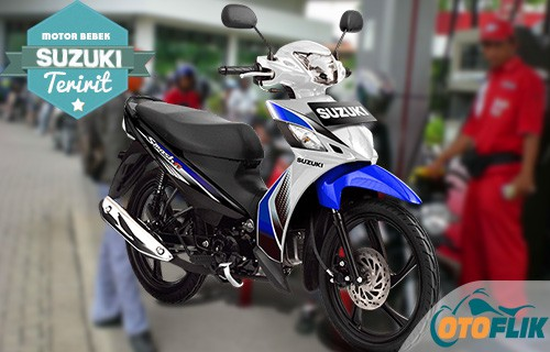 Motor Bebek Suzuki Teririt New Smash FI