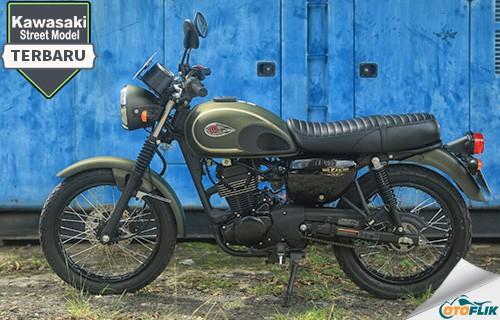 Motor Kawasaki Street Models Terbaru