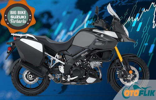 Motor Suzuki Big Bike Terlaris V-Strom 1000