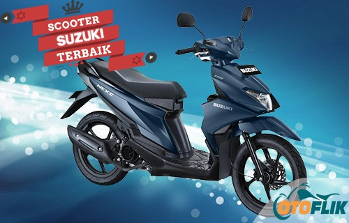 Motor Suzuki Scooter Terbaik NEX II Standard Elegant