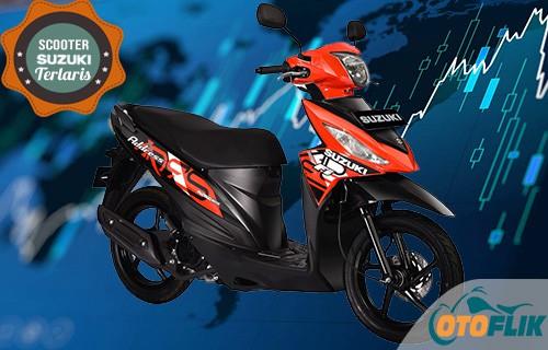 Motor Suzuki Scooter Terlaris Adrress FI