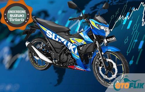 Motor Suzuki Underbone Terlaris All New Satria F150 Motogp