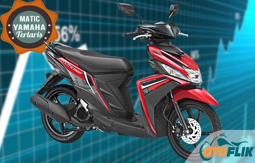 Motor Yamaha Matic Terlaris Mio M3 125