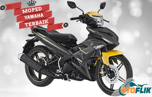Motor Yamaha Moped Terbaik MX King 150
