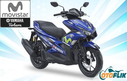 Motor Yamaha Movistar Livery Terbaru Aerox