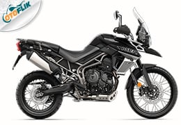 Triumph All New Tiger 800 XCx Range