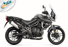 Triumph All New Tiger 800 XRt Range