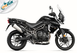 Triumph All New Tiger 800 XRx Range