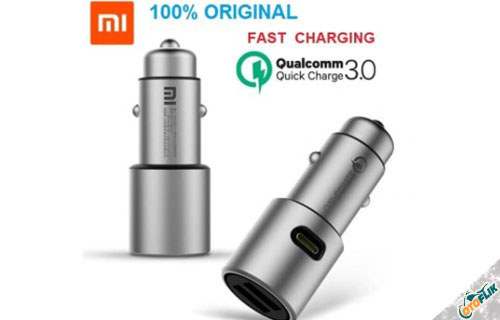 Xiaomi Dual USB Metal Car Charger