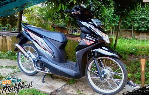 honda beat fi thailook style