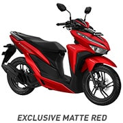 All New Honda Vario 150 Exlusive Matte Red