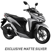All New Honda Vario 150 Exlusive Matte Silver