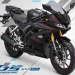 All New Yamaha R15 Black