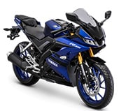 All New Yamaha R15 Racing Blue