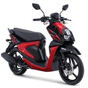 All New Yamaha X-Ride 125 Attractive Red