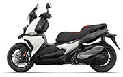 BMW C 400 X ion Alpine White
