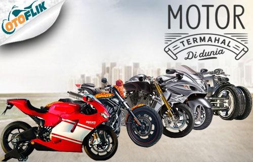 Daftar Motor Termahal di Dunia