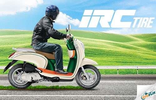 Harga Ban IRC untuk Motor Matic