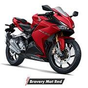 Honda CBR250RR STD Bravery Mat Red