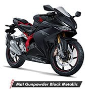 Honda CBR250RR STD Mat Gunpowder Black Metallic