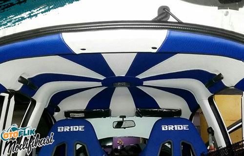 Modifikasi Plafon Brio