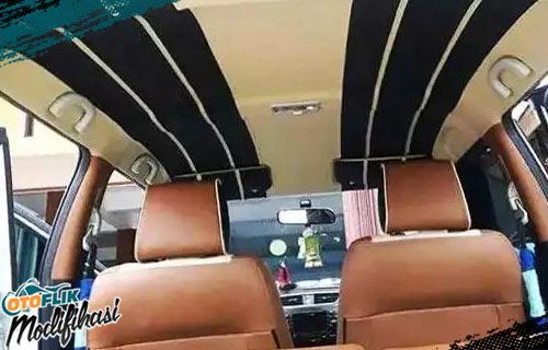Modifikasi Plafon Mobil Rapi