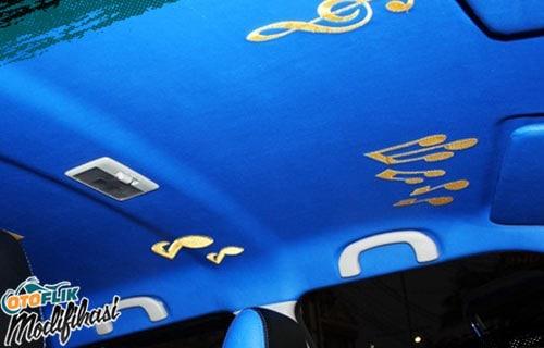 Modifikasi Plafon Mobil Swift