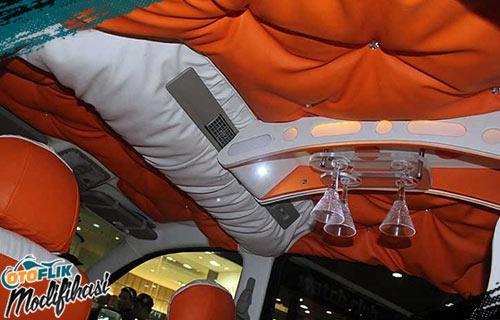 Modifikasi Plafon Mobil Terios
