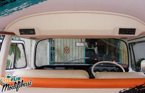 Modifikasi Plafon Mobil VW