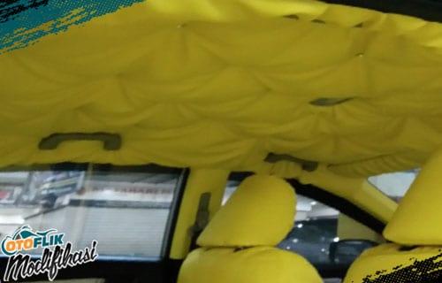 Modifikasi Plafon Mobil
