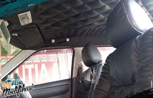 Modifikasi Plafon Toyota Yaris