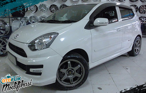 velg racing daihatsu ayla ring 16