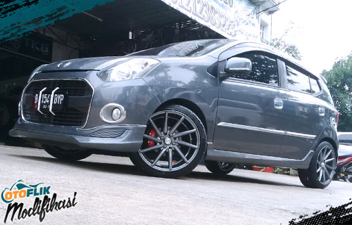 velg racing daihatsu ayla ring 17