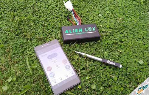 Alarm Motor Alien Lox