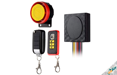 Alarm Motor BlueFire Security Kit