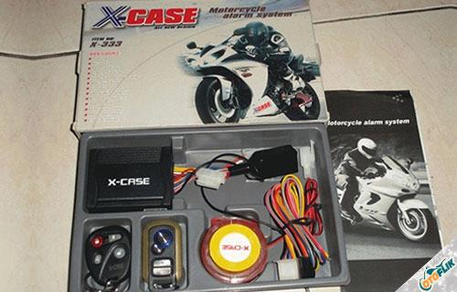 Alarm Motor X Case
