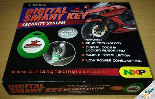 Alarm Motor i-Max Digital Smart Key